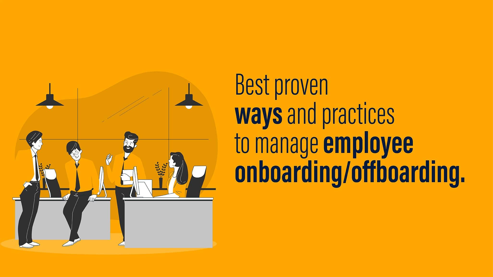 employee onboarding and offboarding
